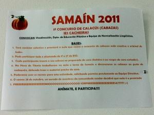 Cartel do Samaín